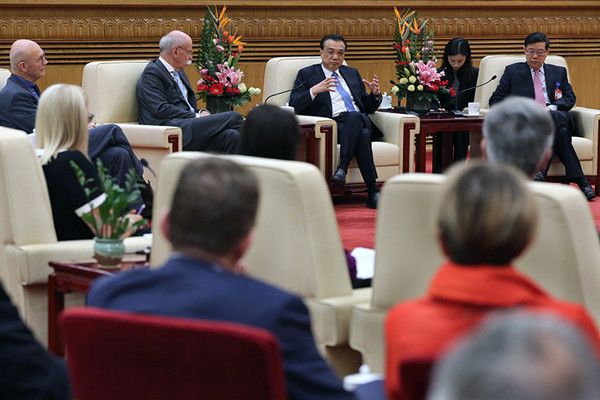 Li: Foreign companies to be equals